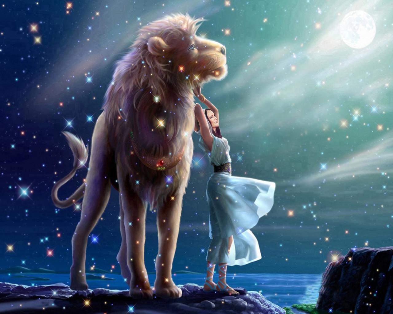львa для гороскопы
