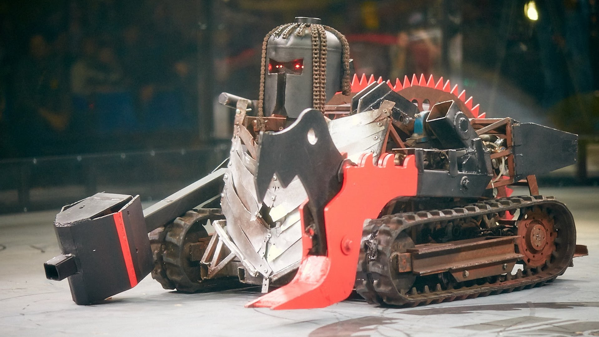 Шоу бои роботов «Бронебот»