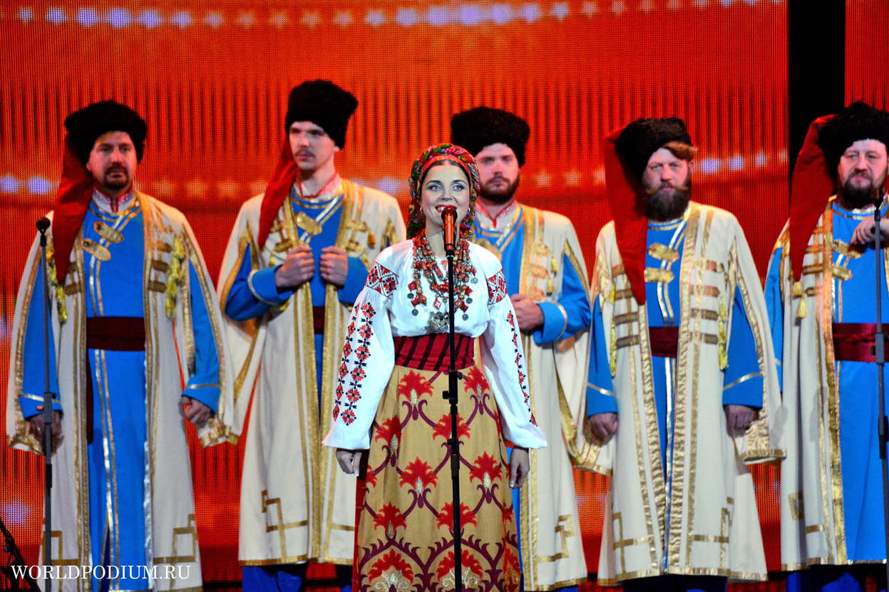 фото сцене казаки на