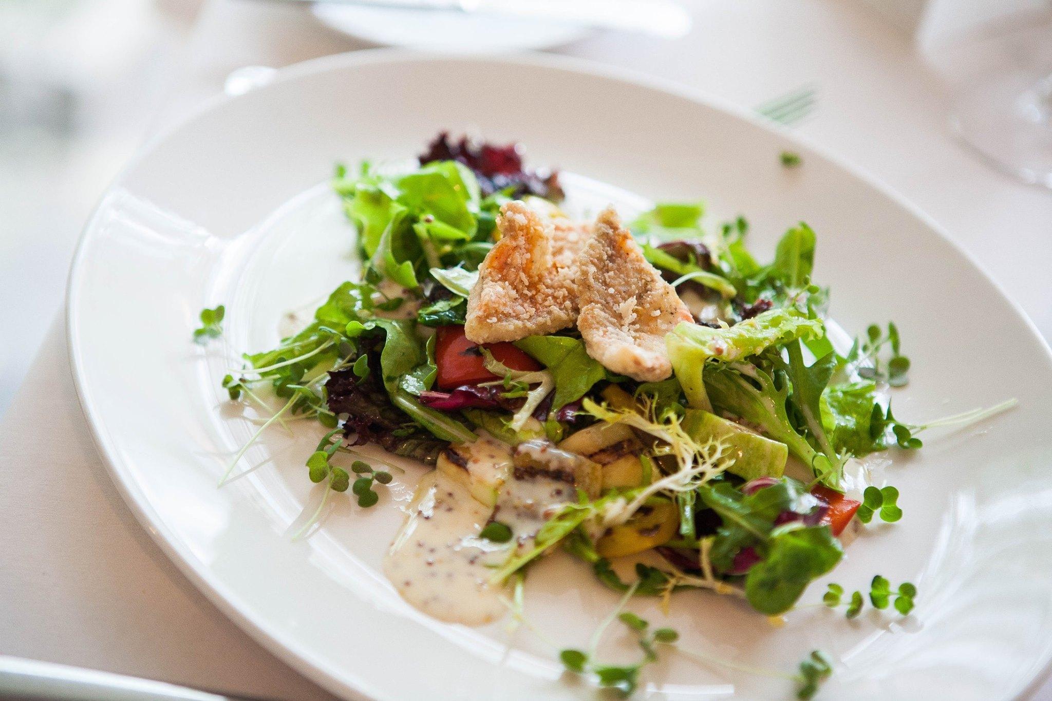 салат от шефа ресторанного типа фото самоклеющаяся