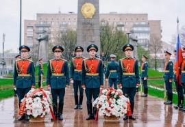 В Москве прошла акция «Цветы Победы»