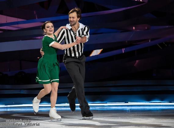 Девятый выпуск шоу «Ледниковый период» - «Русские хиты 21 века!»
