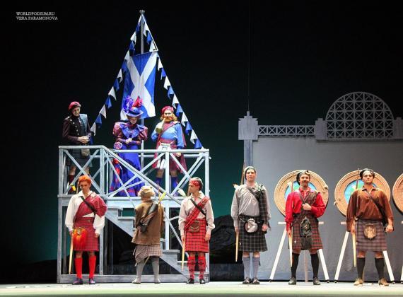 Премьера музыкального спектакля «Вересковый мёд» на сцене «Театра Терезы Дуровой»