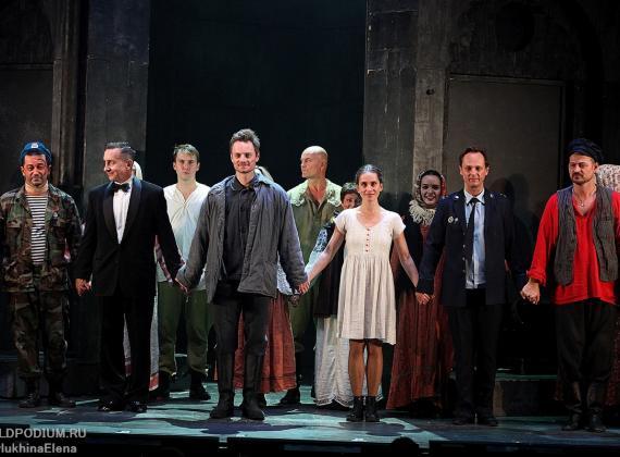 «Хорошо ты устроилось, общество лжи!»: рок-опера «Преступление и наказание» на сцене Театра Мюзикла