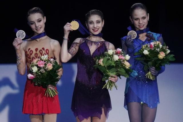 Алена Косторная, Анна Щербакова, Александра Трусова – триумф Российских фигуристок на Чемпионате Европы