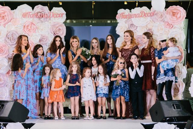 II Всероссийский fashion-марафон «от СЕРДЦА к СЕРДЦУ» прошел в Москве. Звезды вышли на подиум с детьми