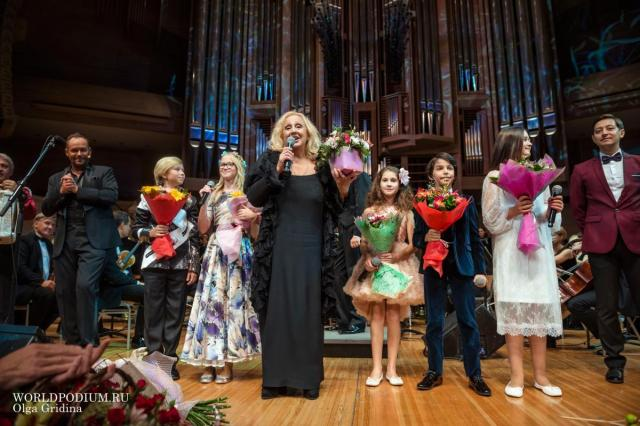 Лора Квинт отметила юбилей на сцене Светлановского зала Дома музыки!