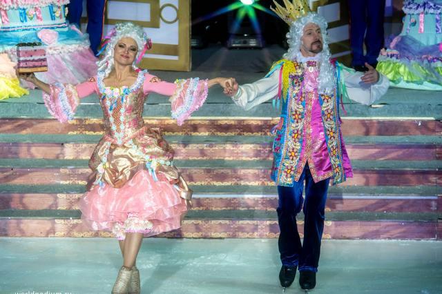 Чудесное Марципановое королевство Ильи Авербуха и Татьяны Тарасовой: новогодний ледовый мюзикл «Щелкунчик и мышиный король»!