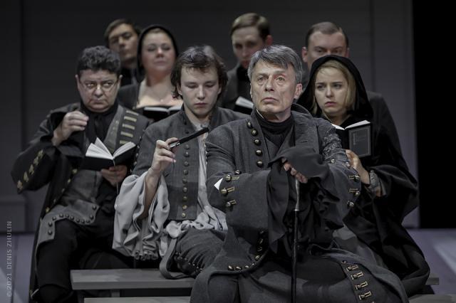 «Зависит лишь от нас духовное богатство!»: Миндаугас Карбаускис представил спектакль «Школа жён» на сцене Театра им.В.Маяковского