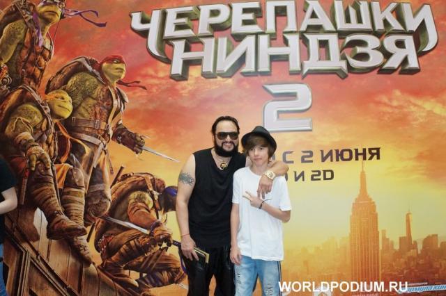 Премьера фильма  «Черепашки-ниндзя 2»