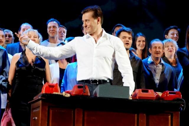 Открытие сезона в Московском Губернском театре :«Встречайте - Губернский десант!»