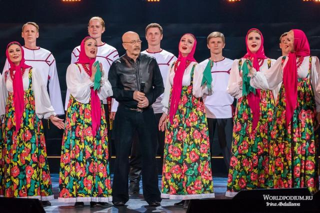 Александр Розенбаум в концерте «Неформат»