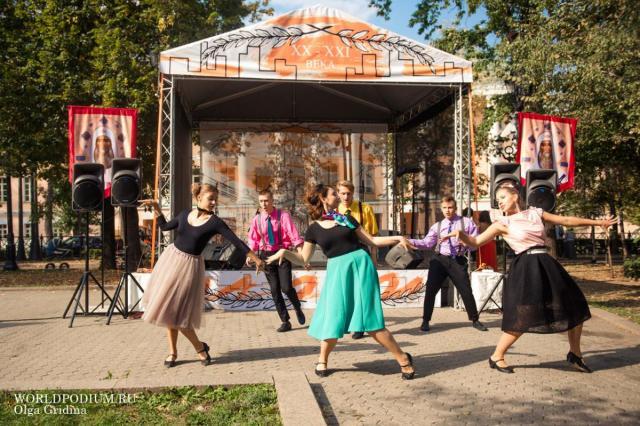 Танцы сквозь века, мастер-классы, зажигательный флешмоб и многое другое в честь Дня Города Москвы