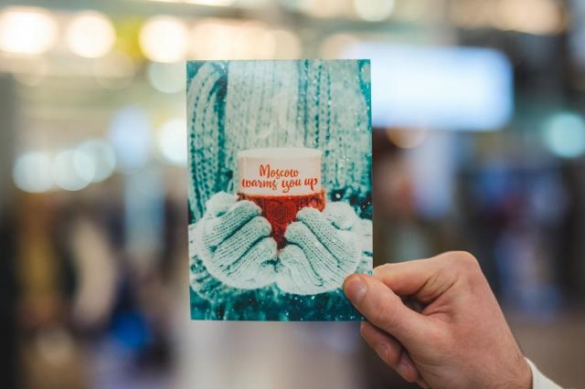 Новогодняя акция «Москва поздравляет тебя!» прошла в столичных аэропортах
