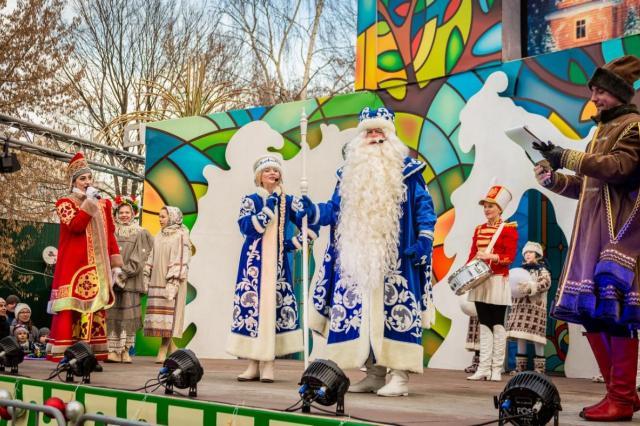 ВДНХ приглашает на встречу с Дедом Морозом