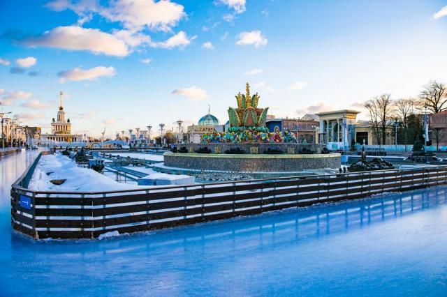 Каток на ВДНХ откроется 27 ноября с соблюдением новых мер безопасности