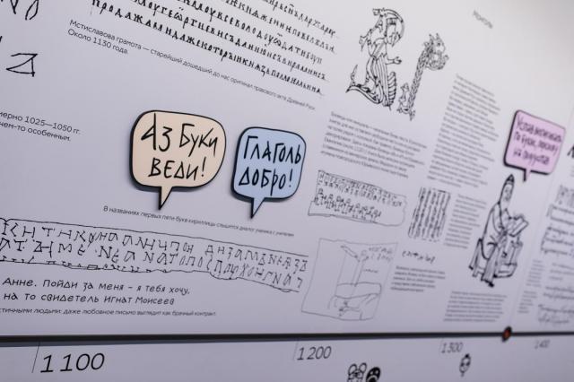 Как появились буквы: цикл бесплатных лекций в Центре «Слово» на ВДНХ