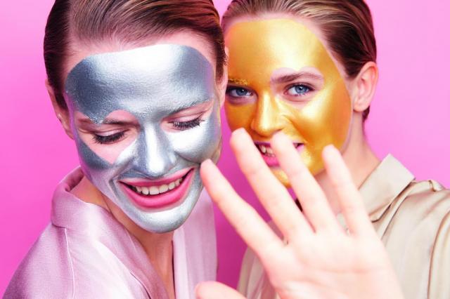 Искрящиеся маски для лица и настроения!