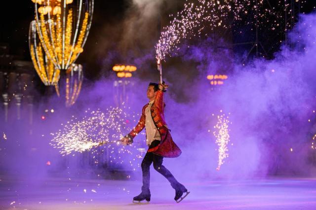 Новый год на ВДНХ встретили более 100 000 человек