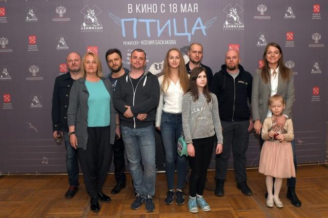 В Москве прошла премьера фильма «Птица» с Иваном Охлобыстиным
