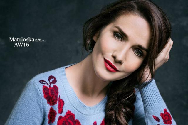 Наталия Орейро стала лицом новой коллекции своего модного бренда Las Oreiro