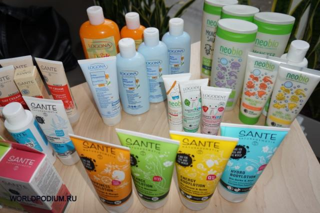 Компания Logocos Naturkosmetik презентовала инновации от брендов Sante, Logona и Masmi!