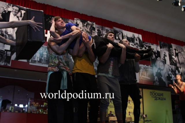 """Единственный показ в Москве шоу-кейса Broadway Dreams 18 апреля в театре """"Россия!"""