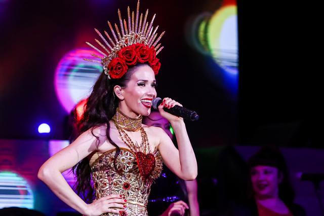 Великолепная Наталья Орейро с программой «Corazon Valiente»!