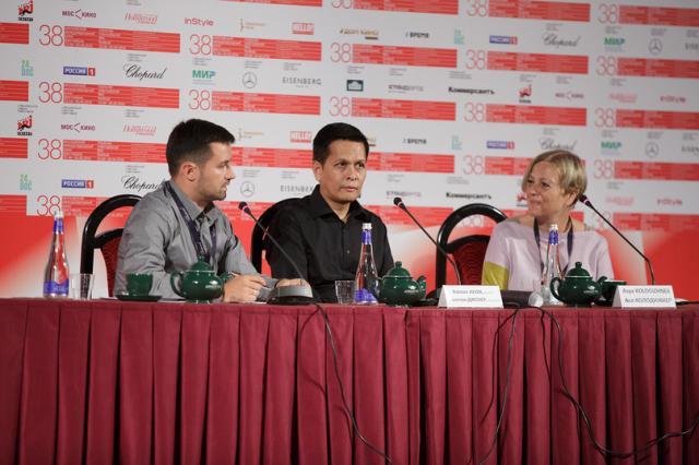 Отчет о пресс-конференции по фильму «Пелена»