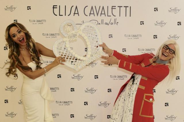 В московском Бутике Elisa Cavaletti прошла встреча с дизайнером Даниэлой Даллавалле