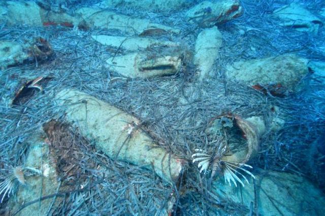 У берегов Кипра нашли затонувший корабль с древнеримскими амфорами