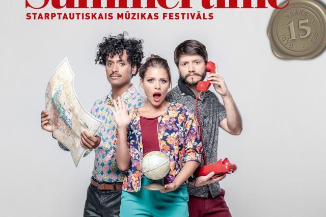 Музыкальное шоу из Колумбии в виртуозном исполнении на фестивале Summertime