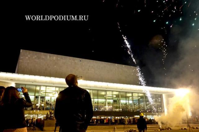 Легендарный большой концертный зал «Октябрьский» отметил 50-летний юбилей