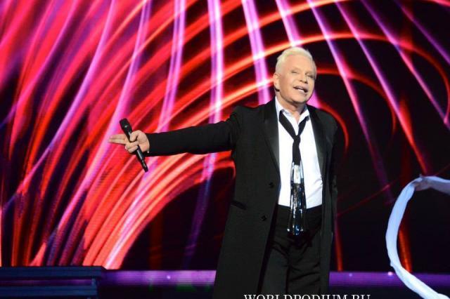 10-летие как Борис Моисеев получил звание Заслуженного Артиста РФ