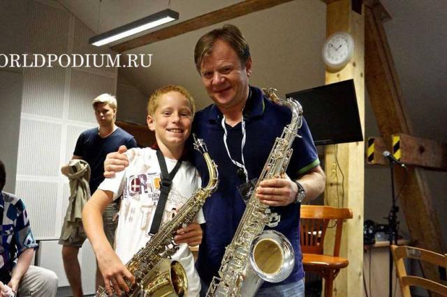 «Мастер-класс Игоря Бутмана на World Jazz Festival»