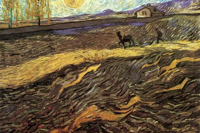 «Вспаханное поле и пахарь» Ван Гога выставят на аукцион за 50 000 000 долларов