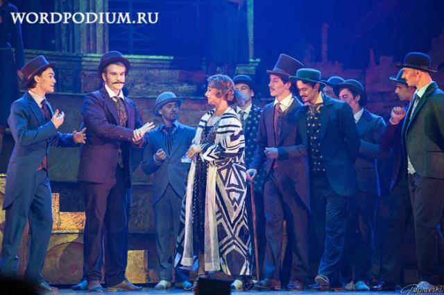 Московский театр мюзикла поздравит Москву в День 870-летия!