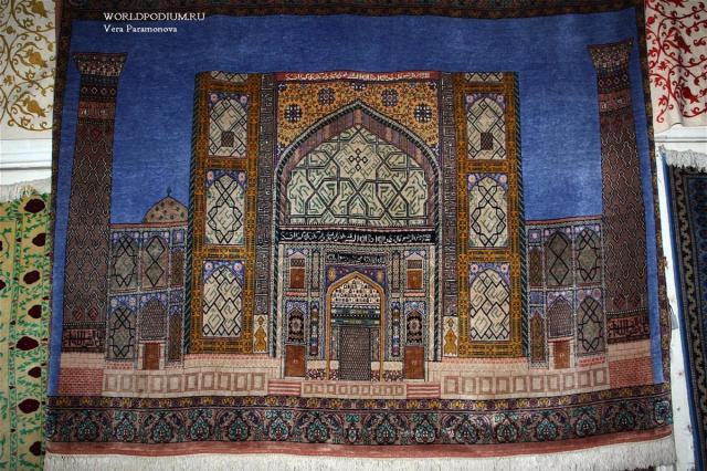 Самаркандские ковры –чарующая атмосфера и уют в доме