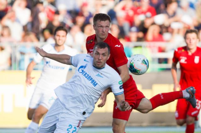 «Зенит» потерпел первое поражение в РПЛ, проиграв «Уфе»