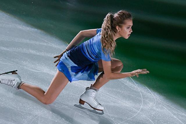 Фигуристка Радионова победила в Пекине и вышла с Медведевой в Финал ГП