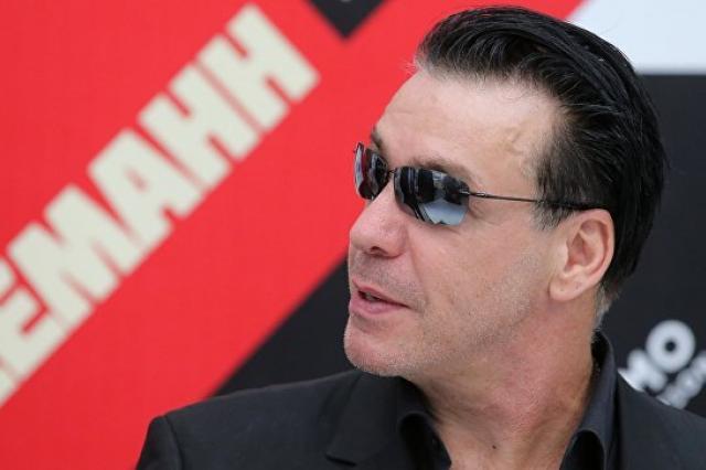 Солист Rammstein выступит в пяти российских городах в декабре