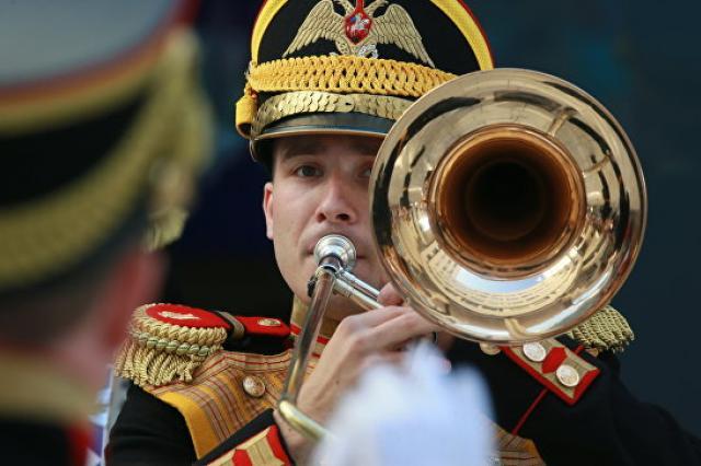 Центральный военный оркестр Минобороны отметил 90-летний юбилей