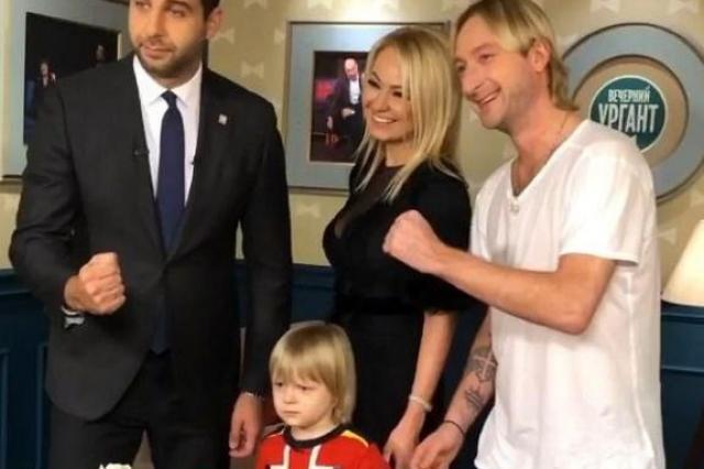 Иван Ургант довел Плющенко-младшего до слез на Вечернем шоу