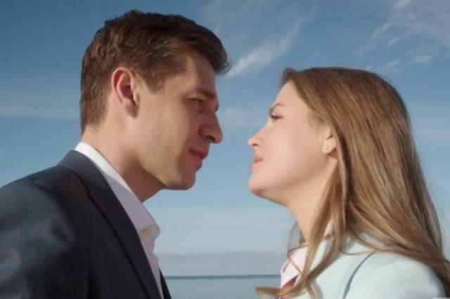 Анна Михайловская и  Александр Ратников в продолжении сериала «Капитанша»