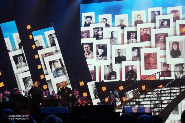 Телеверсию Кремлёвского концерта Тамары Гвердцители «Накануне Победной весны» покажут в День Победы сразу на двух телеканалах!