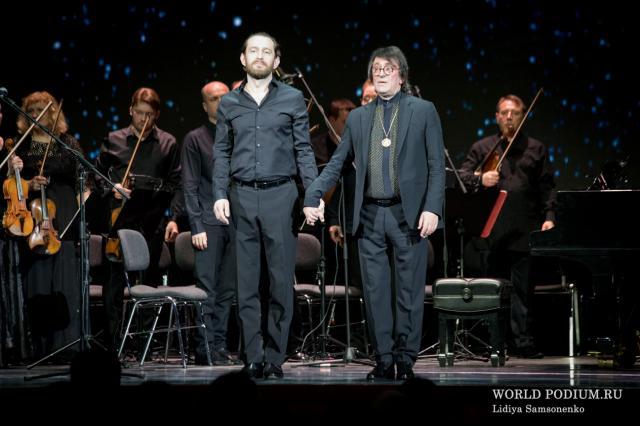 Концерт Юрия Башмета и Константина Хабенского в сопровождении Камерного ансамбля «Солисты Москвы»