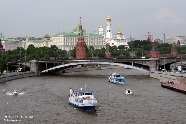 Моя Москва, ты всем близка!