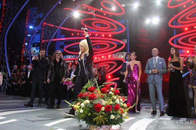 В рамках «Новой Волны 2018» прошел творческий вечер Ирины Аллегровой
