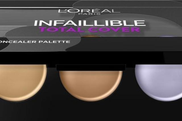 Палетка консилеров «Infaillible Total Cover» от L'Oreal Paris