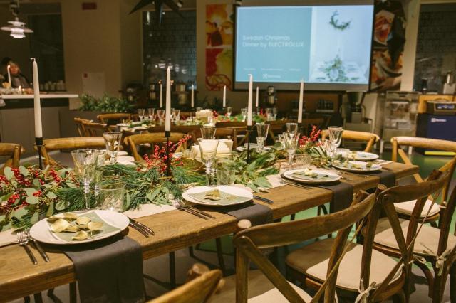 Рождество по-шведски: поп-ап ресторан нордической кухни от Electrolux